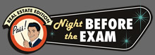 pass the real estate exam prep logo