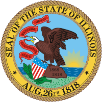 Illinois State Real Estate Test Preparation Seal