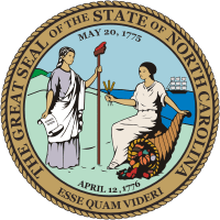 North Carolina State Real Estate Test Preparation Seal